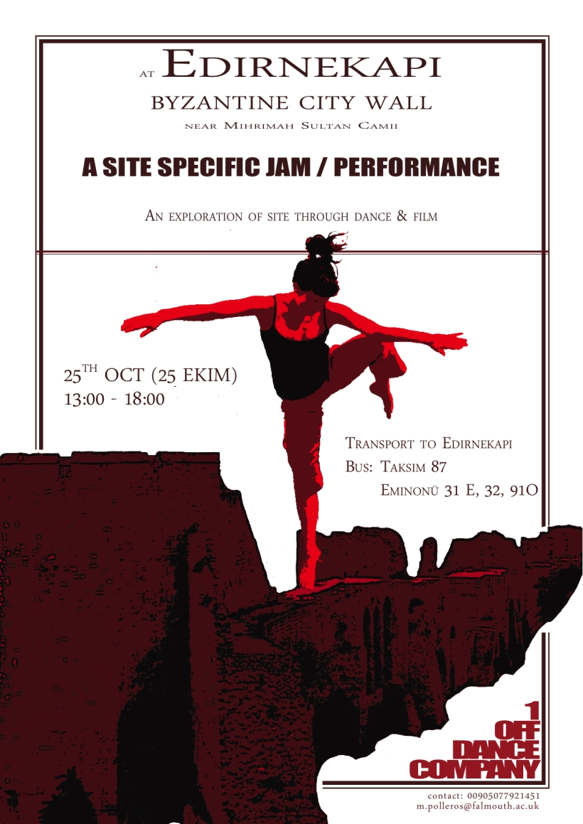 Byzantine City Wall Improvised Jam Poster Advert