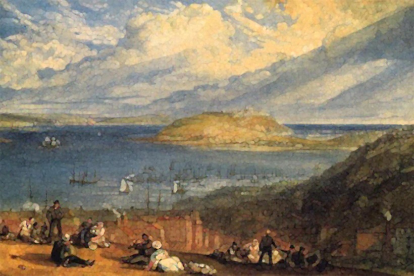 Falmouth Harbour by William Turner