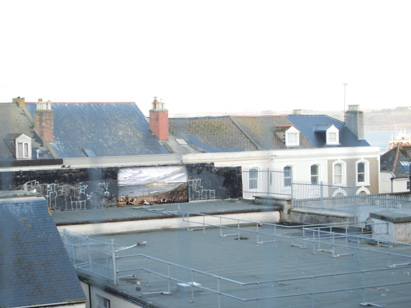Roof Space with Turner Painting not where it will be actually positioned because it is too far to the right
