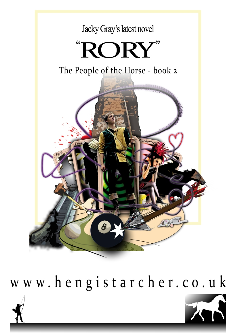RORY promotional poster