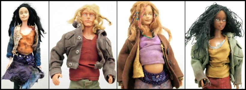 Four-characters by Ceridwen Hazelchild 2011