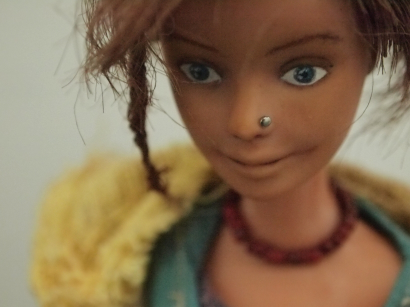 Close-Up from character from the Models From Childhood artwork made by Ceridwen Hazelchild 2011