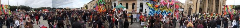 Carnival Parade in Floriana