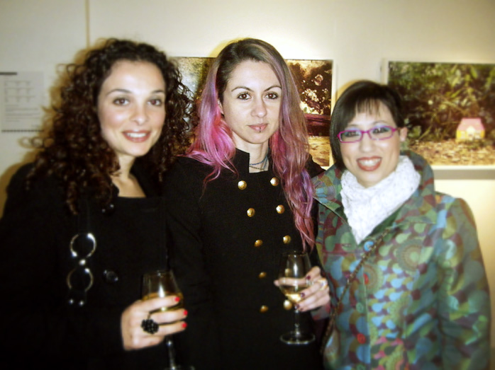 Elisa at Exhibition Launch- Lily Agius Gallery - courtesy of Chris Briffa (http://www.chrisbriffa.com)
