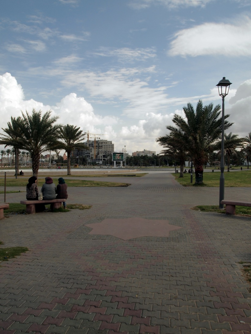 Park between Triq Shott and Martyr Square