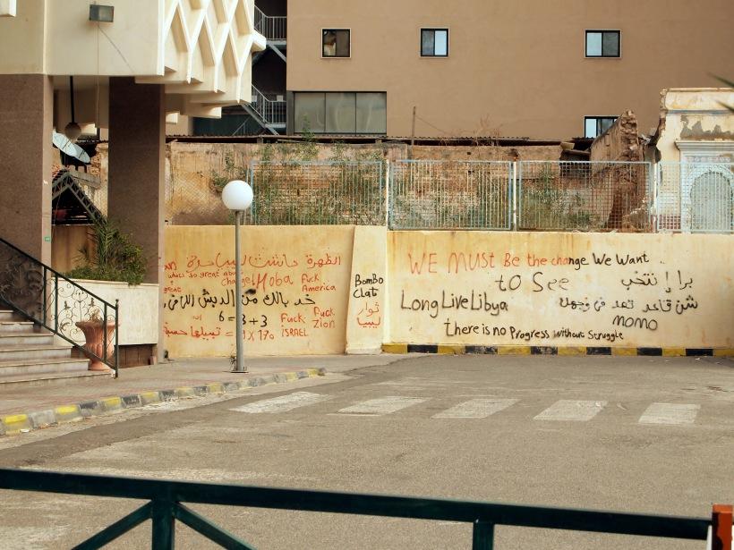 """""""Bombaclat"""" British Libyan Graffiti!!"""