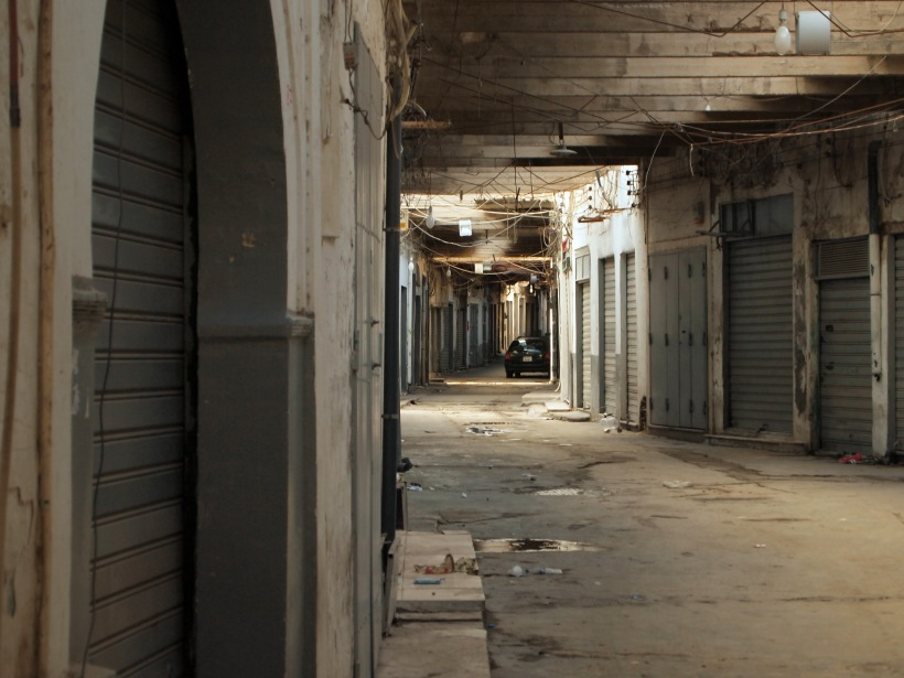 Medina Shops and Alleyways