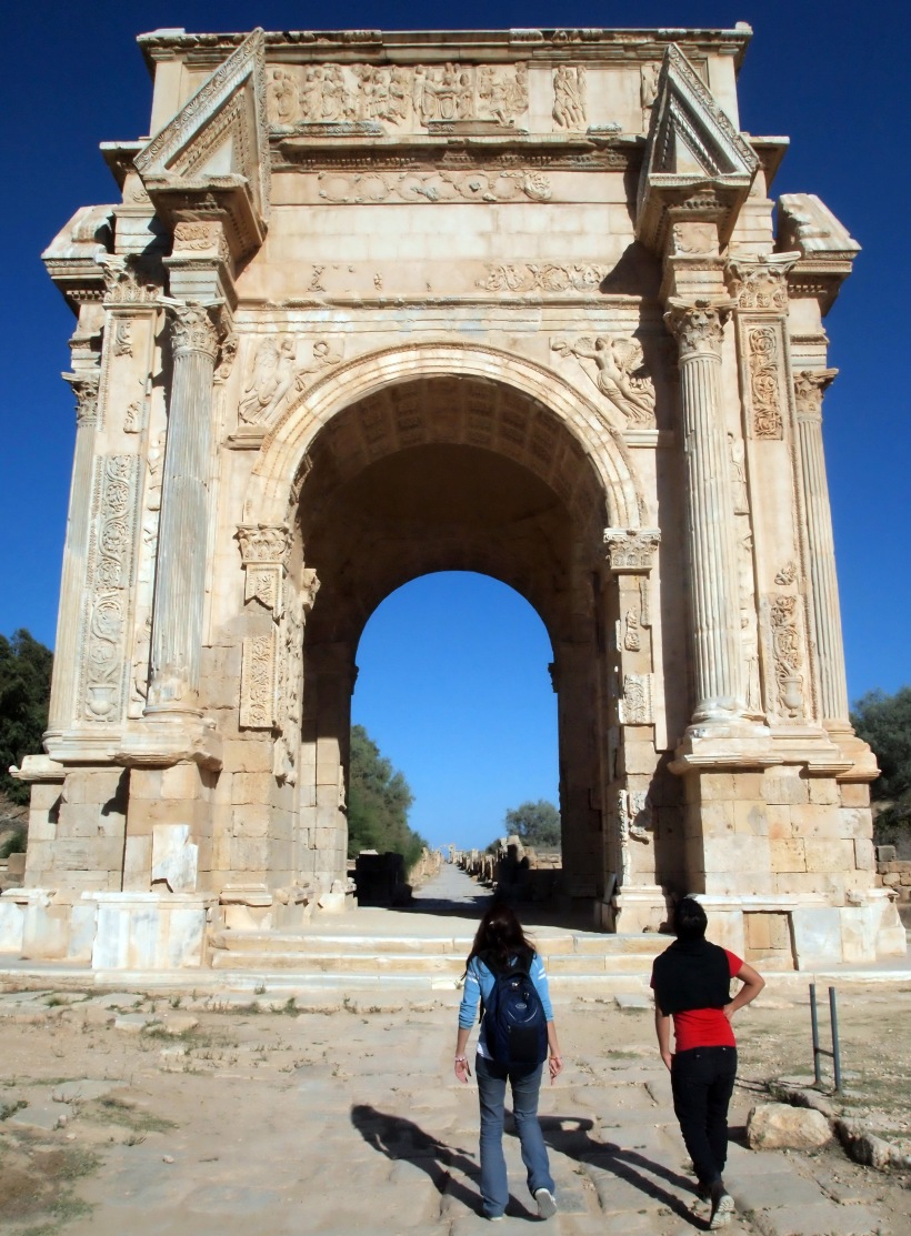 Leptis Magna: Main Gate