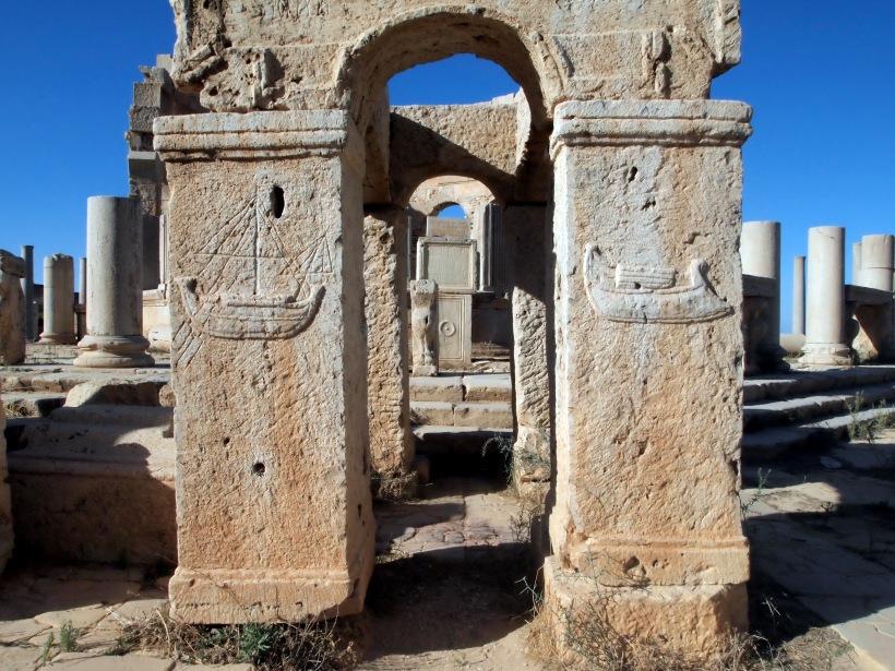 Leptis Magna: Chapel