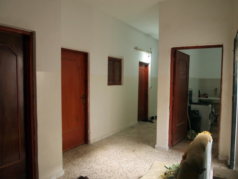 The home in Fallh: Corridor to Housemates