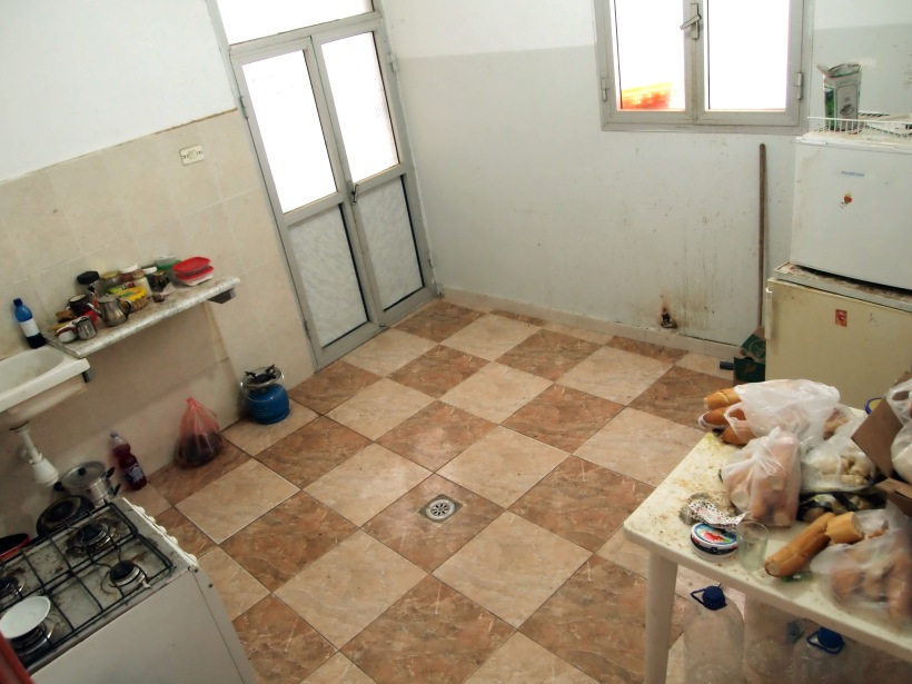 The home in Fallh: Kitchen